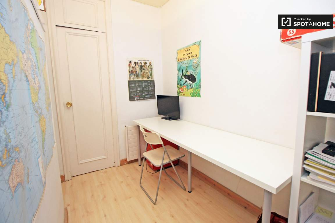 Study area (bedroom 3)