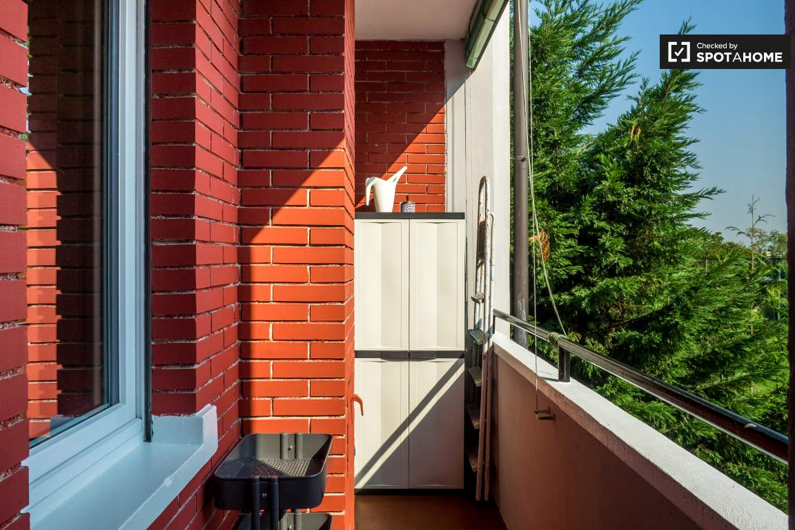 Kitchen balcony