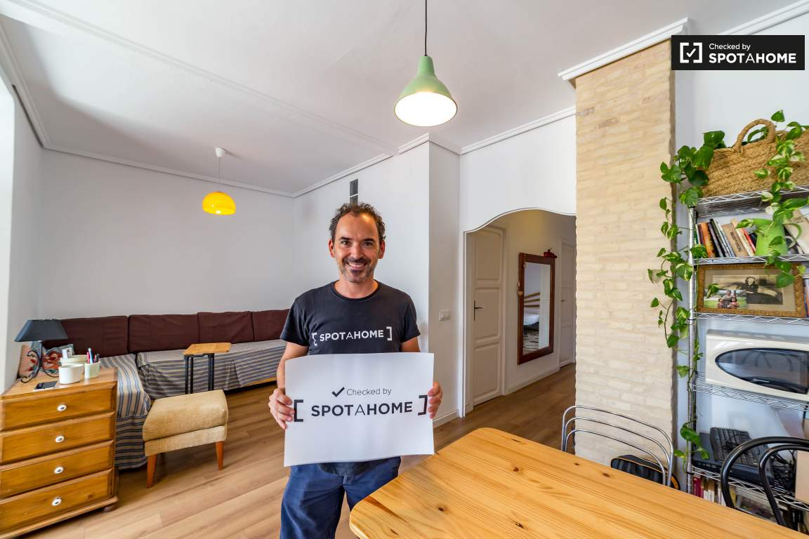 Checked by José Manuel from Spotahome