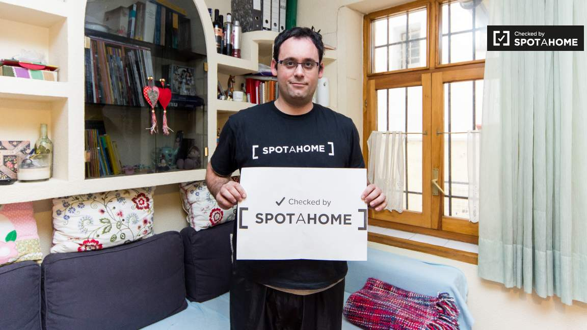 this house was checked by Bruno from the Spotahome team!