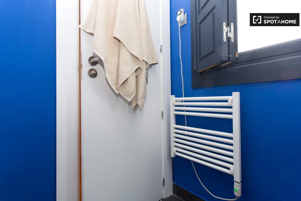 Bathroom 2 Door and Towel Heater