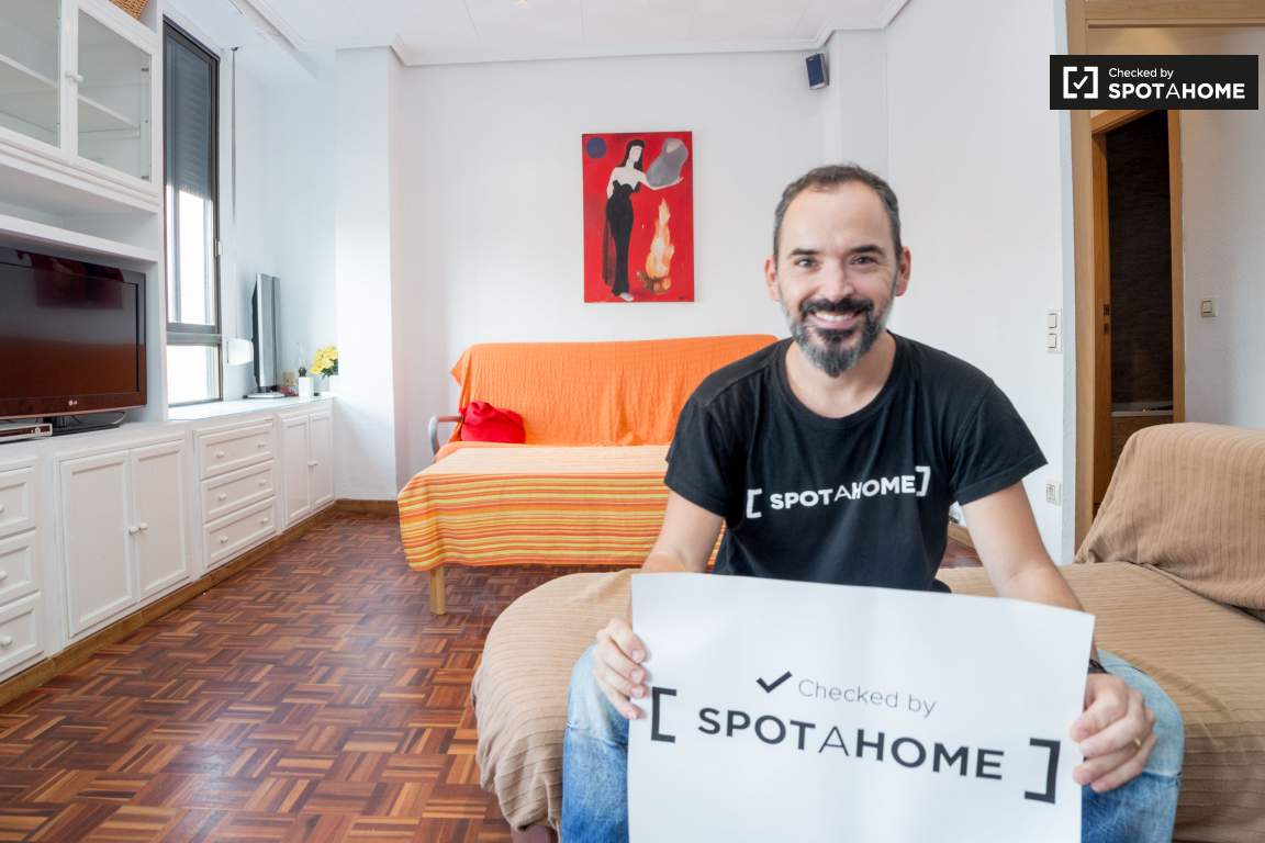 Checked by José Manuel from Spotahome!