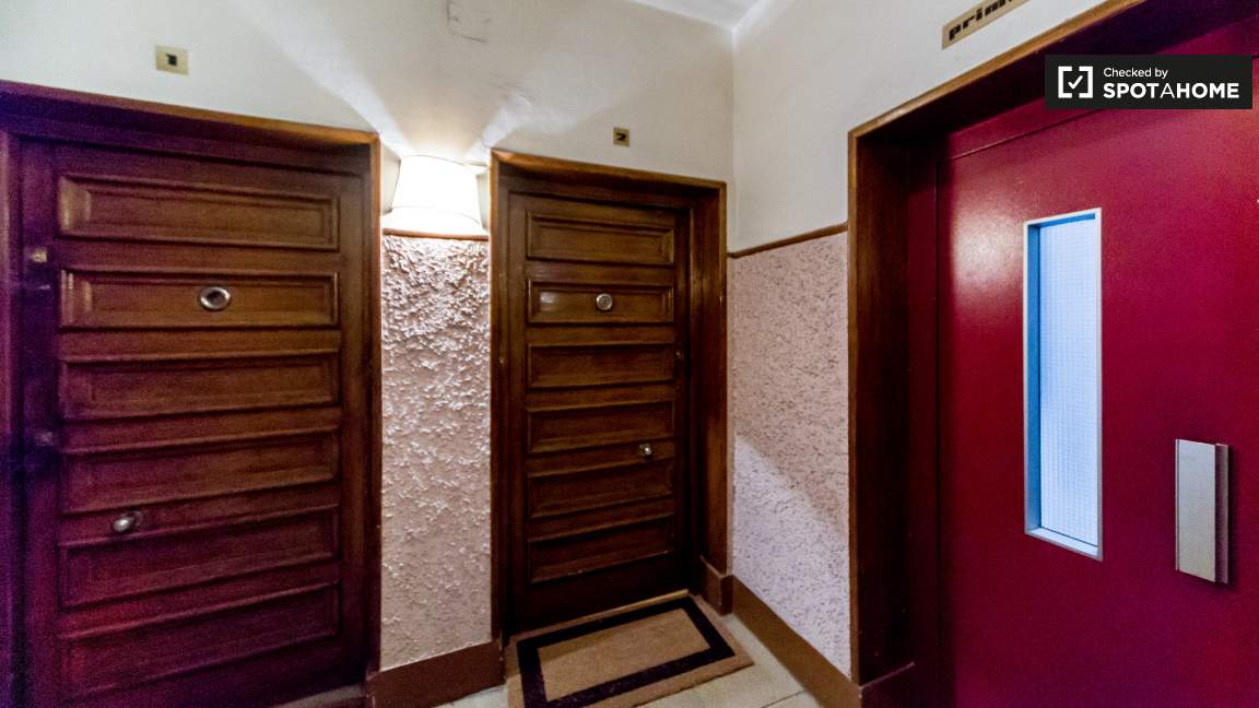 Elevator and flat's entrance