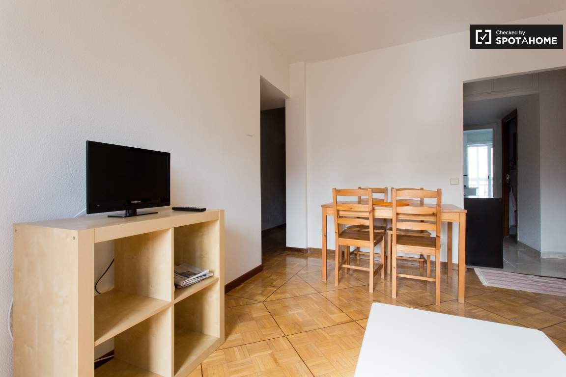 TV and Dining Area