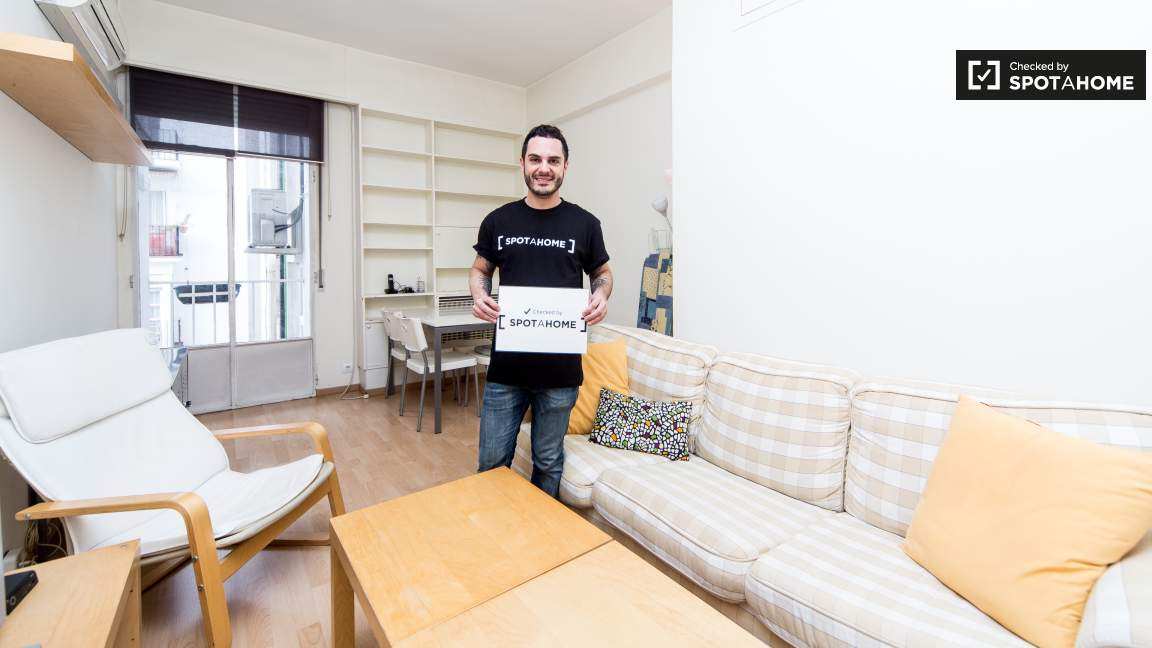 This flat was checked by Javi of Spotahome.com Team!