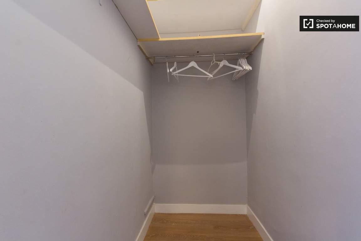 Bedroom 3 walk in closet