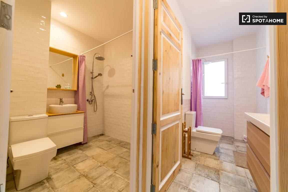 Bathroom 1 and 2