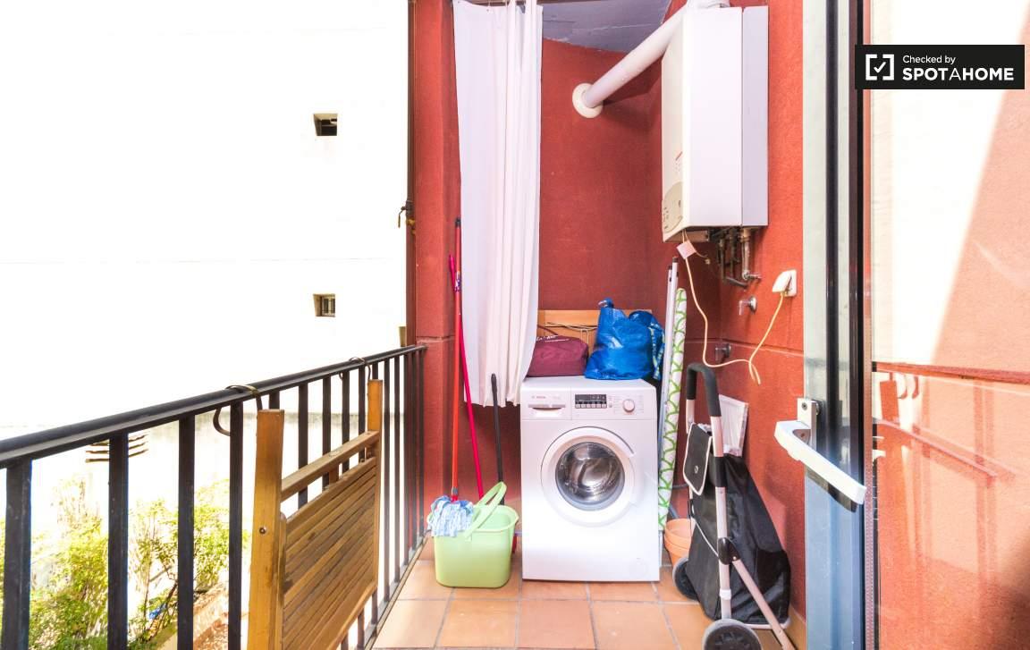 Terrace / Laundry room