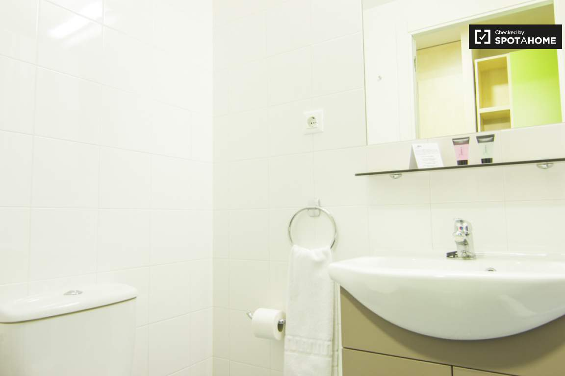 Bathroom of single room