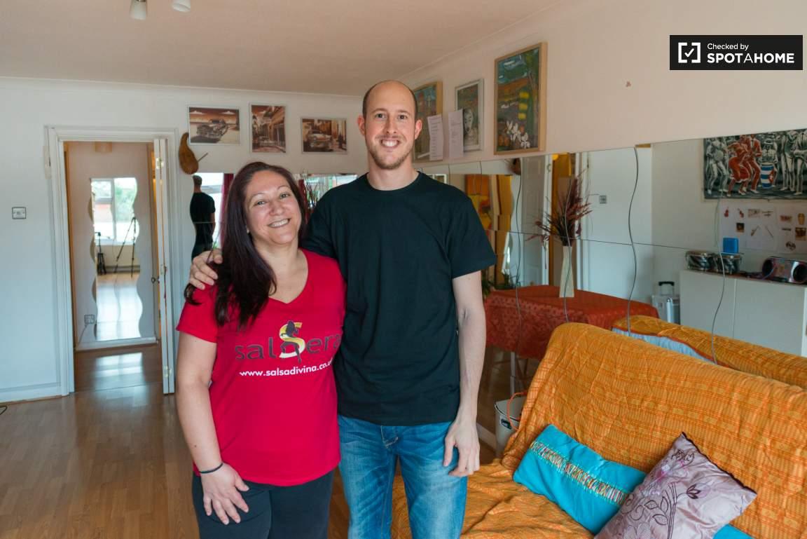 Landlady and Jonatan