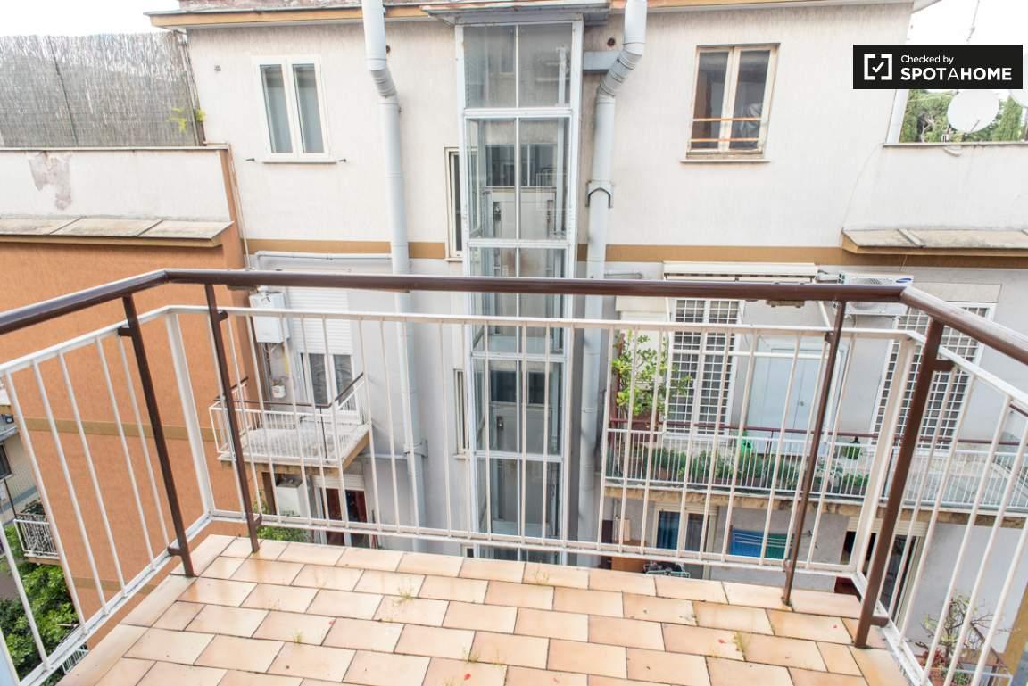 Balcony of the kitchen