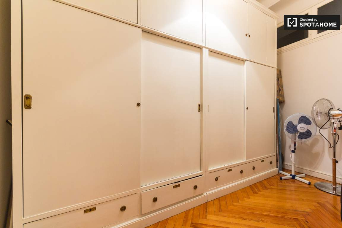 Area for Wardrobes