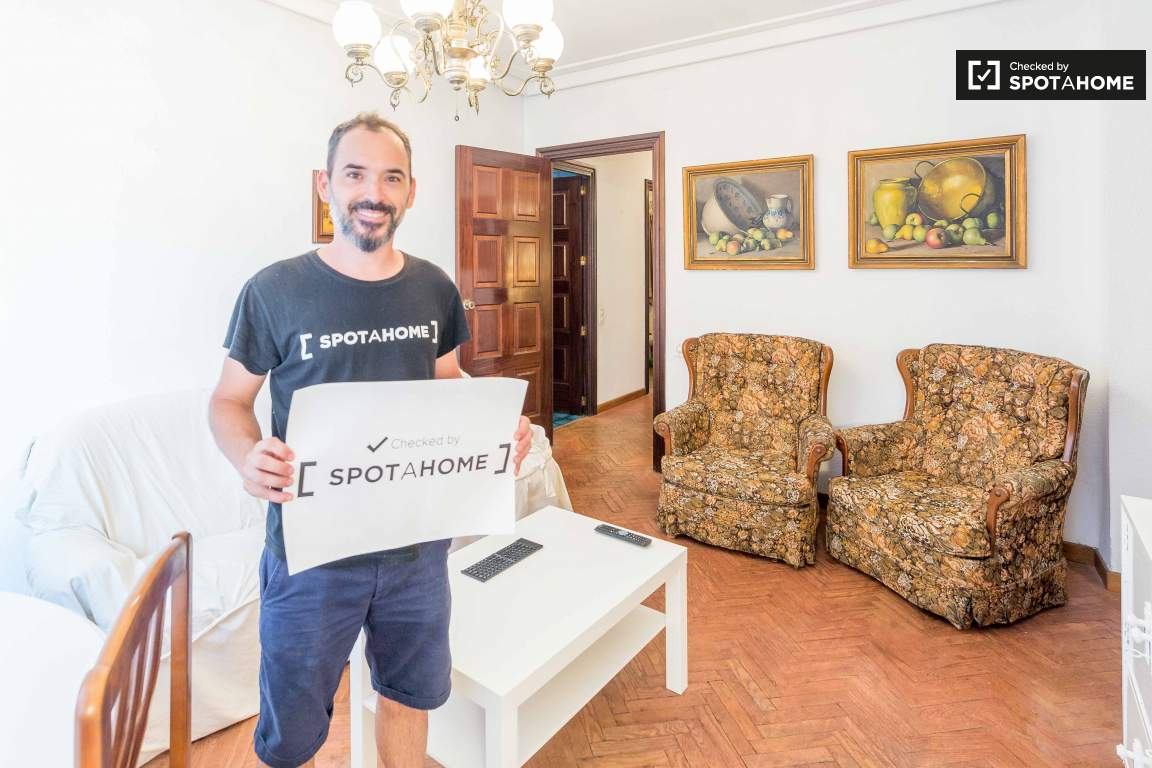 Checked by Jose Manuel from Spotahome!