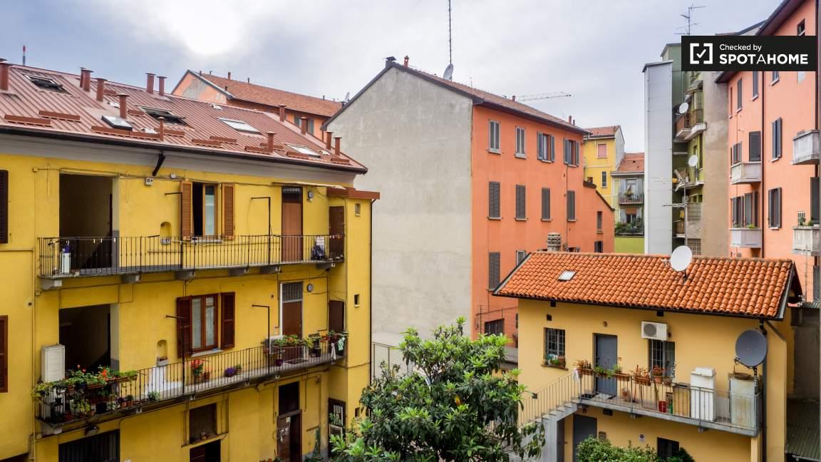 Cucina balcone vista