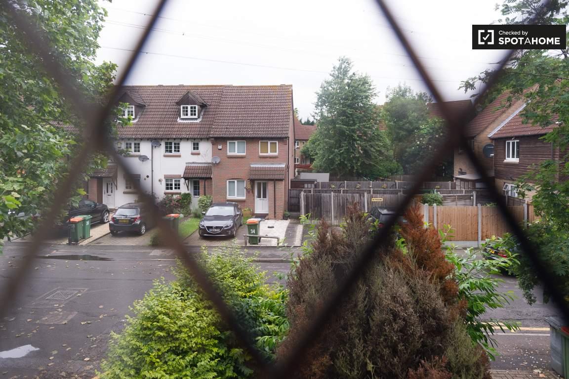 View from window bedroom