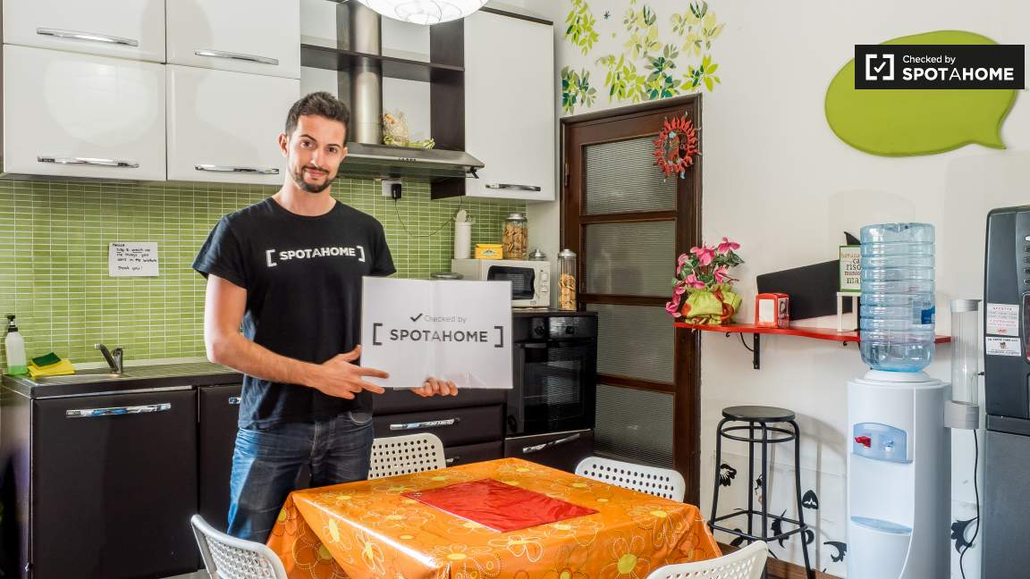 Checked by Matteo from Spotahome
