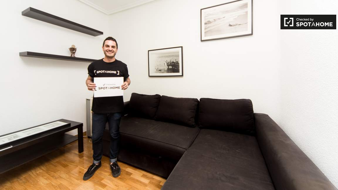 This flat was checked by Javi of the Spotahome team