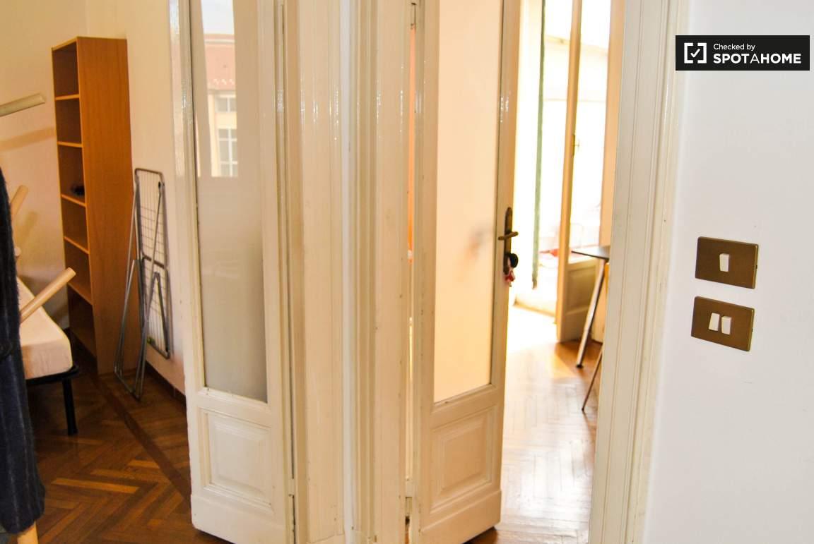 Corridor between bedrooms