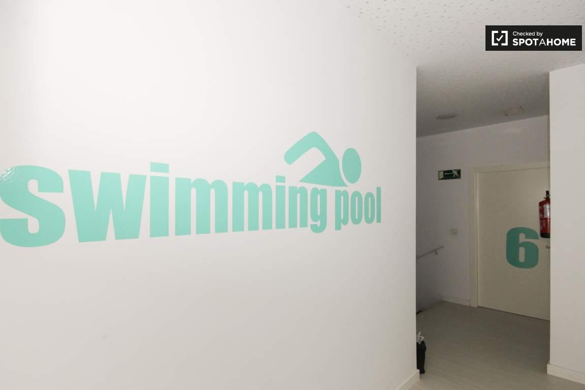 Swimming pool sign