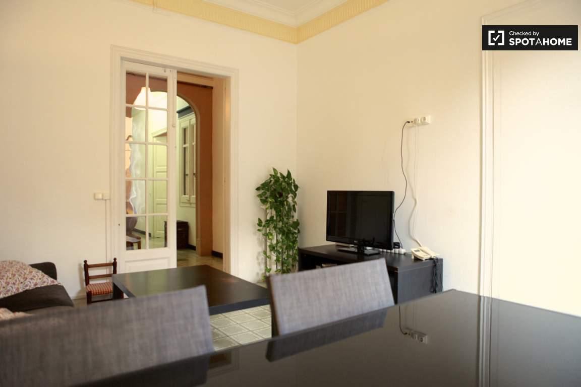 Living room + bedroom 3