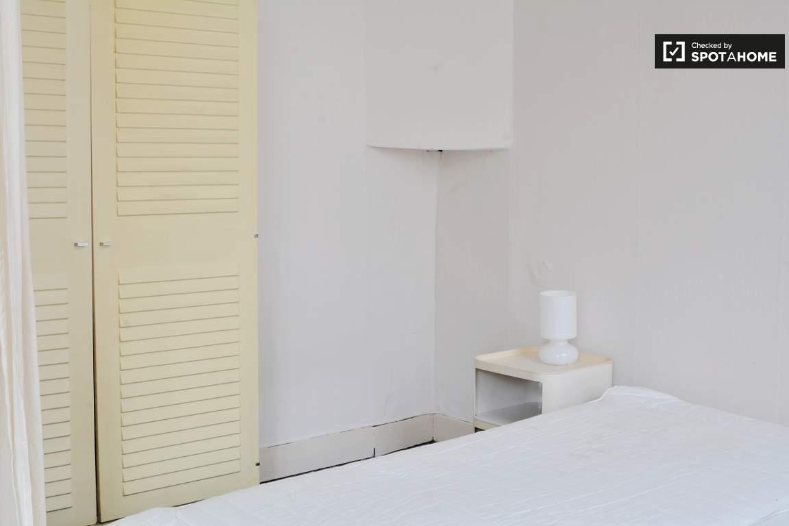 bedroom 1 sleeping area