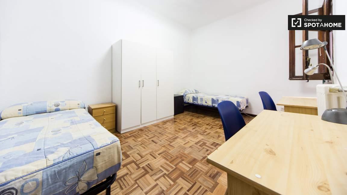 Bedroom type 5 - twin beds