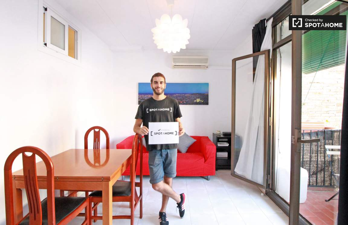 Checked by Xavier from Spotahome