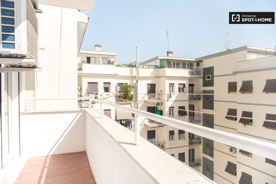 Balcony of bedroom 4