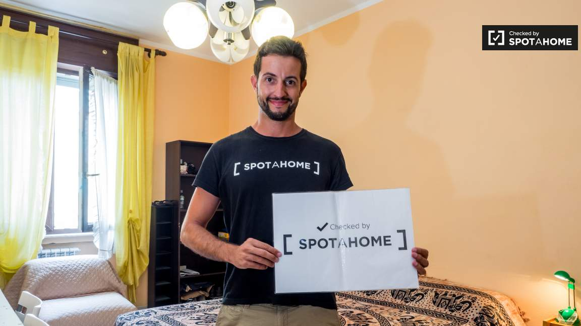 Checked by Matteo from Spotahome!