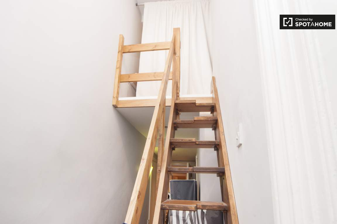 Stairs to extra space