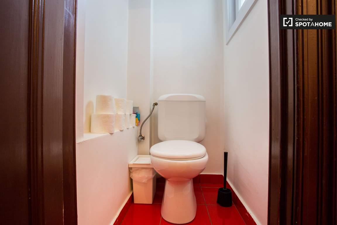 Toilet 1 (lower floor)