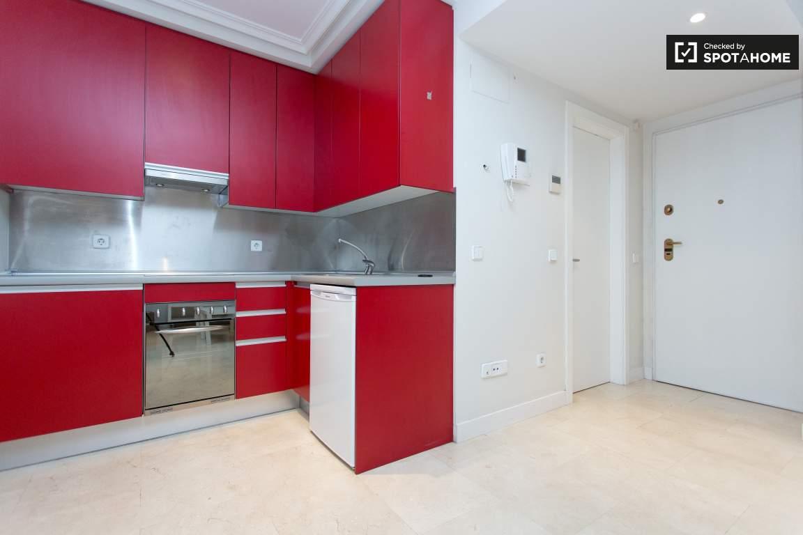 Kitchen, Bathroom, and Front Door