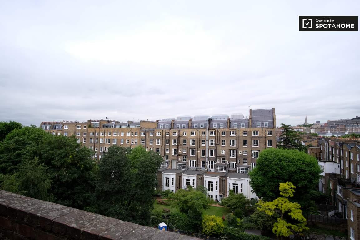 Living room balcony view