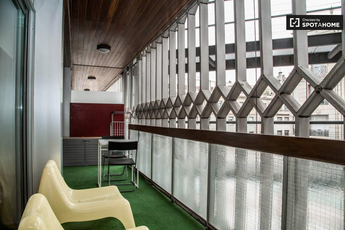 Balcony bedrooms