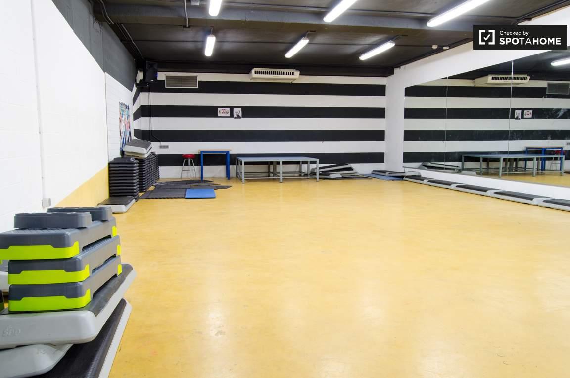 Aerobic room