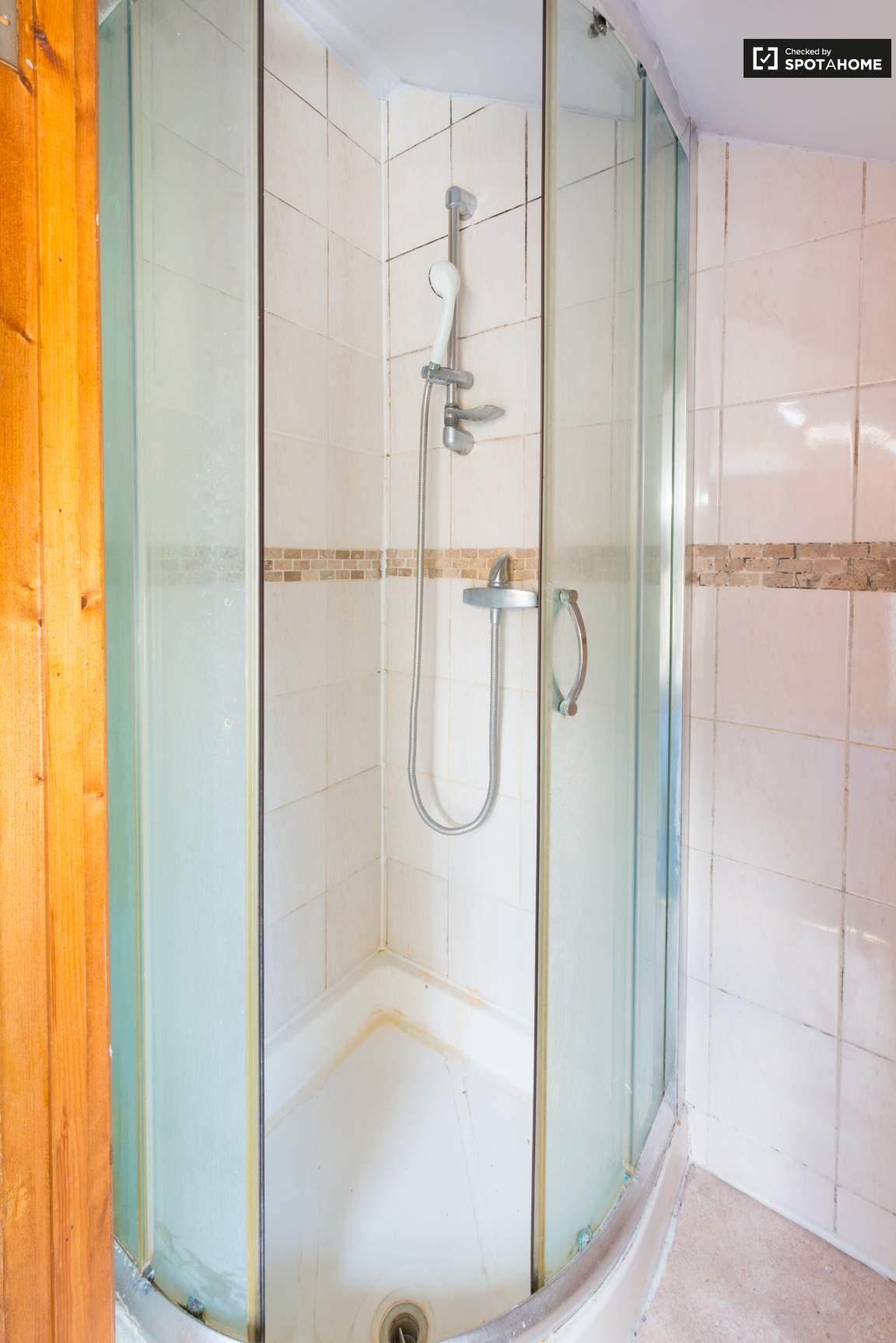 Bedroom 6 en-suite shower