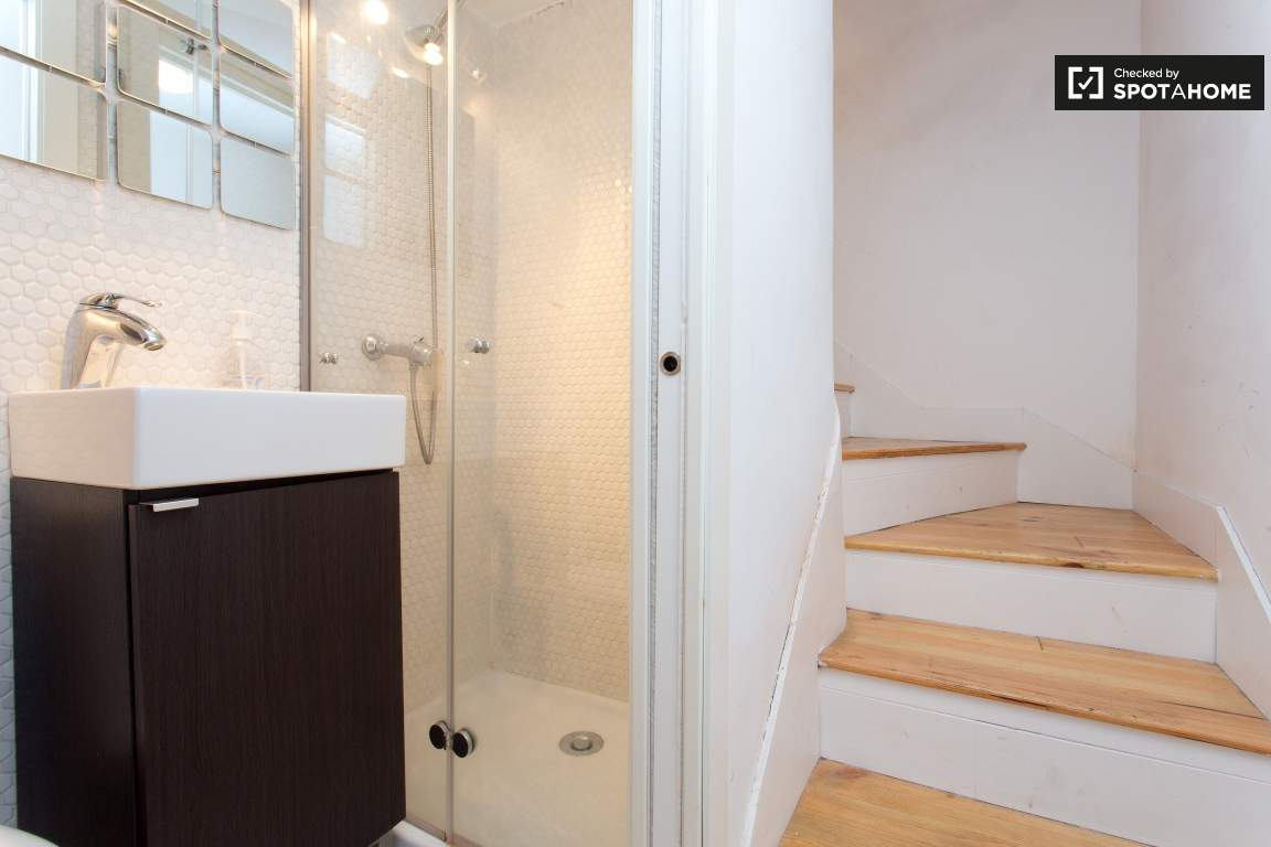 Bathroom and Stairs