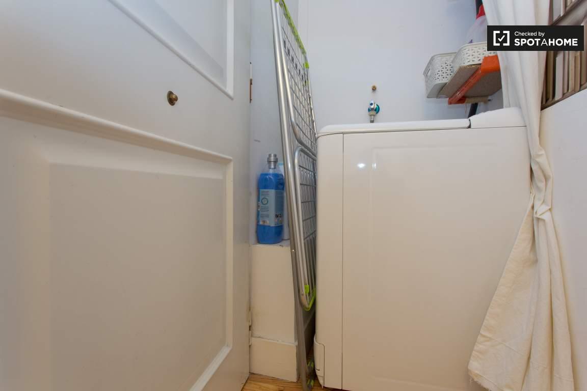 Front Door and Washing Machine