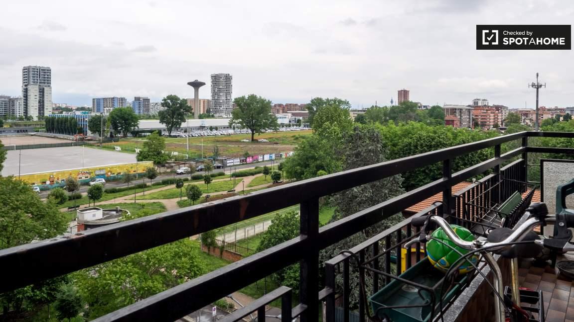 Soggiorno balcone