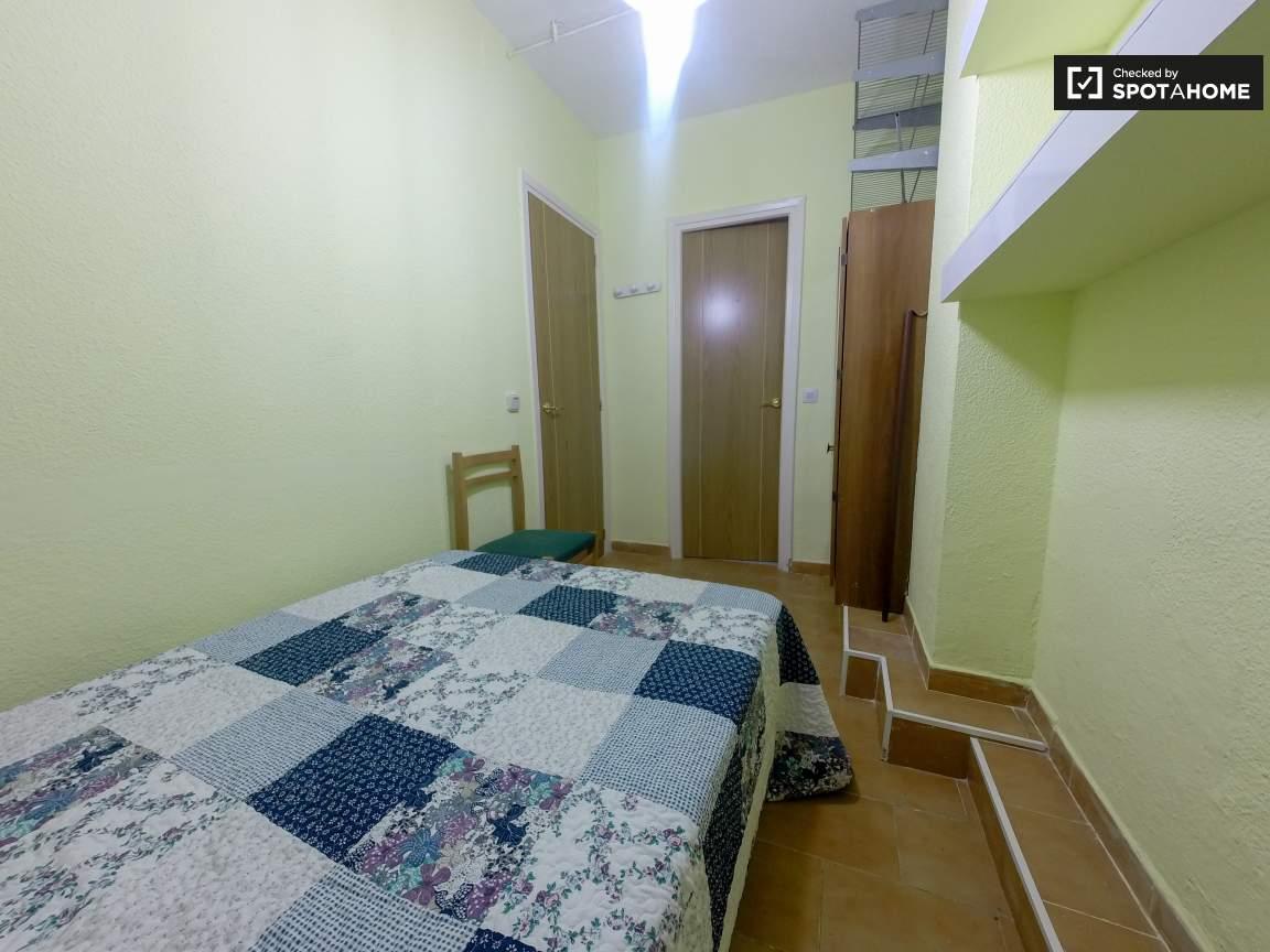 Bedroom and bathroom door