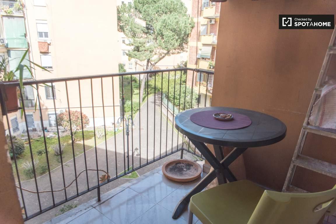 Kitchen's balcony