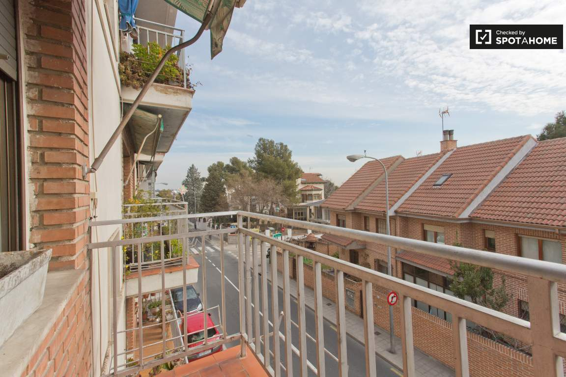 Balcony View to the Left