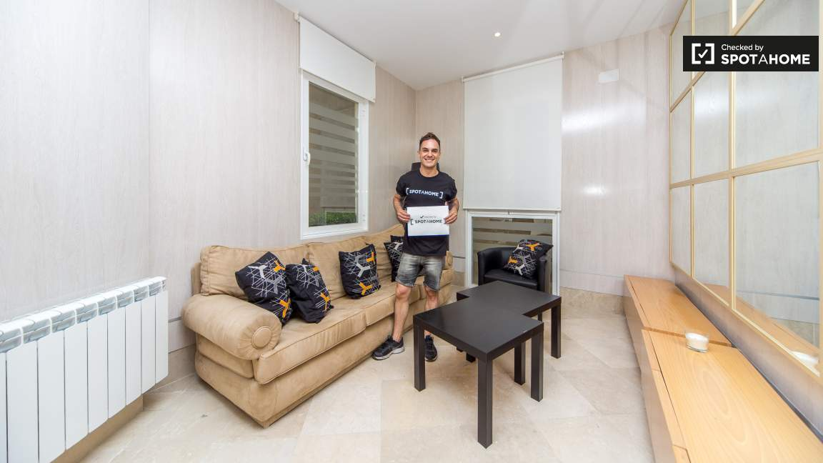 This property was checked by Javi from Spotahome team!
