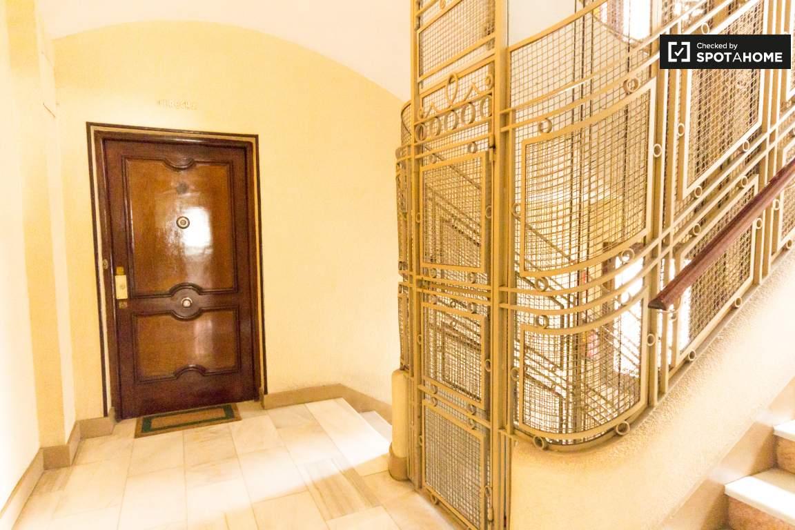 Elevator in front of your door!