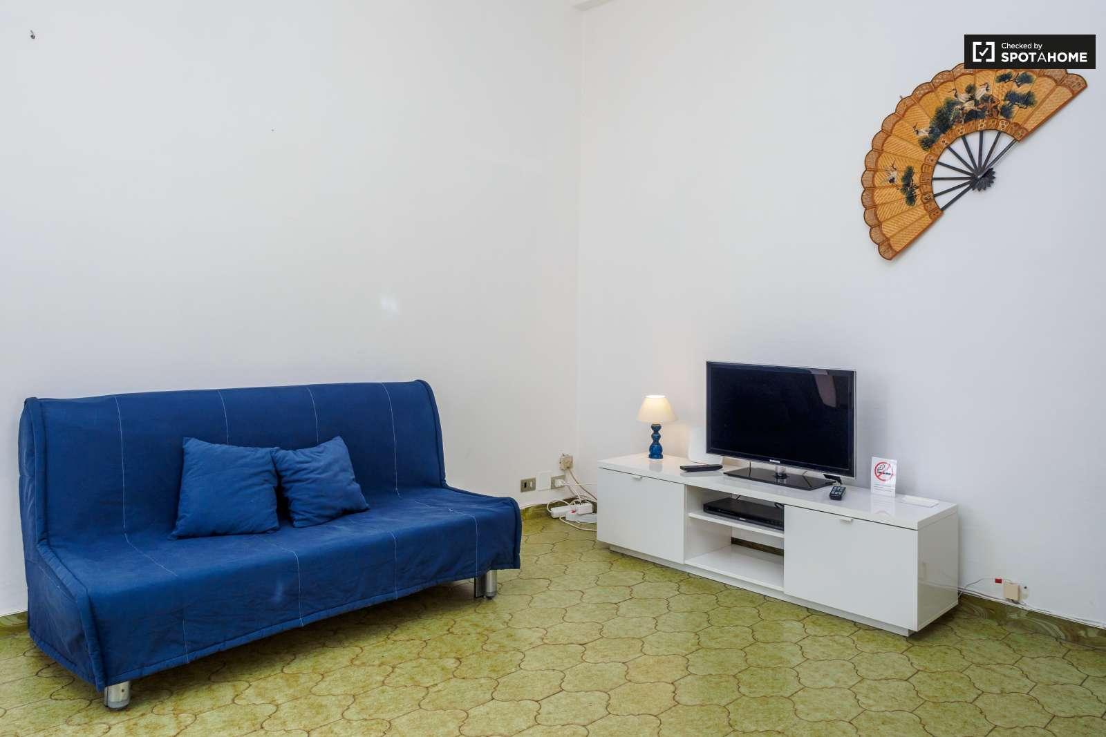 luminoso appartamento con 1 camera da letto e aria condizionata in ... - Soggiorno Luminoso