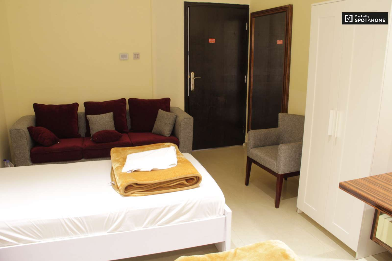 Single Bedroom Suite Rooms For Rent In Apartment With Pool Access In Al Barsha Spotahome