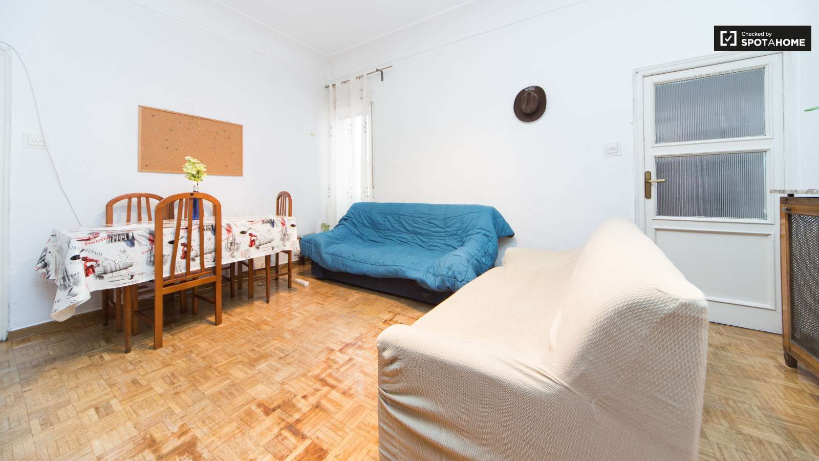Great Shared 5 Bedroom Apartment In Madrid Ref 80087