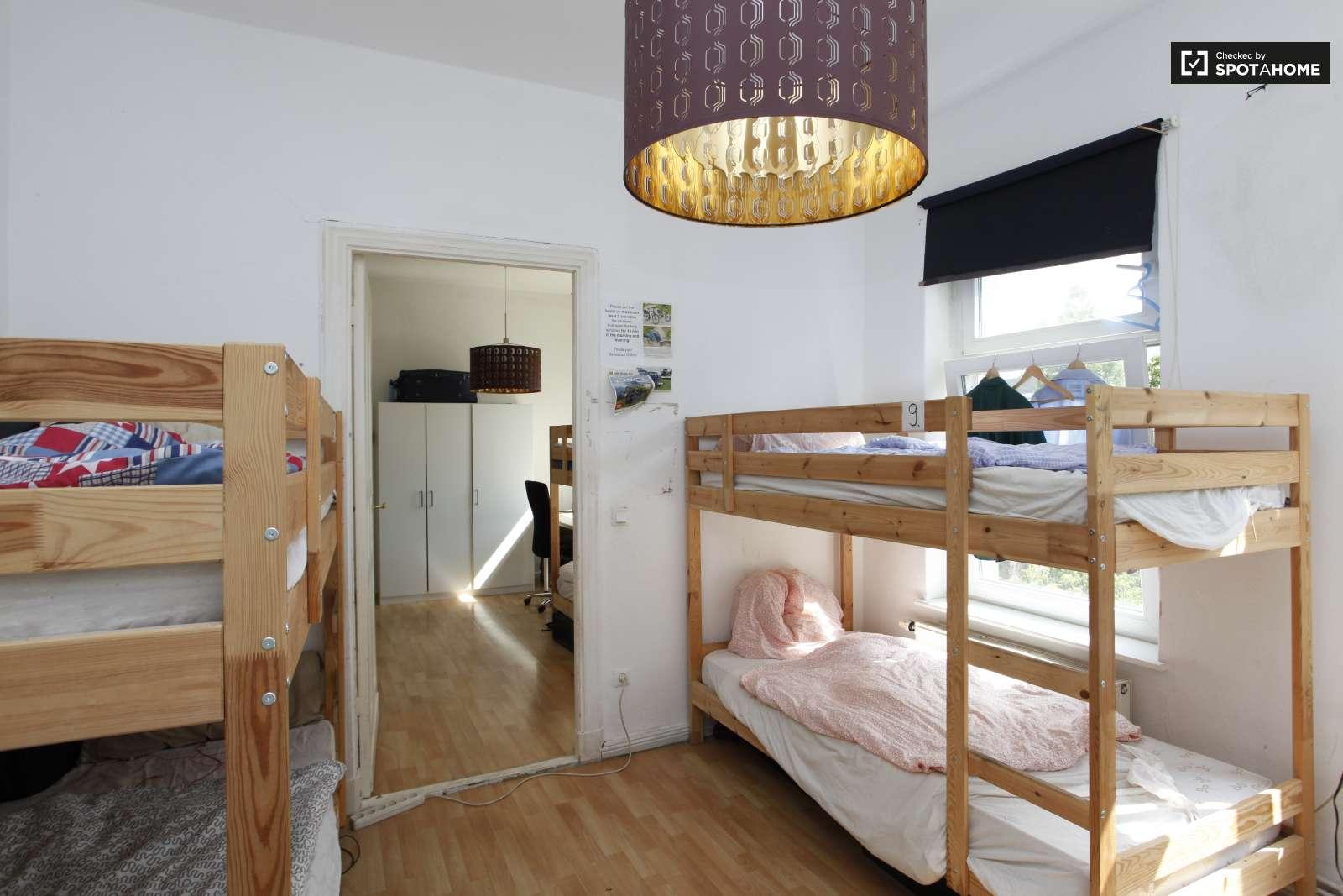 Bunk Beds In Rooms For Rent In Flatshare Near S Bahn Treptow Kopenick Berlin Room For Rent Berlin