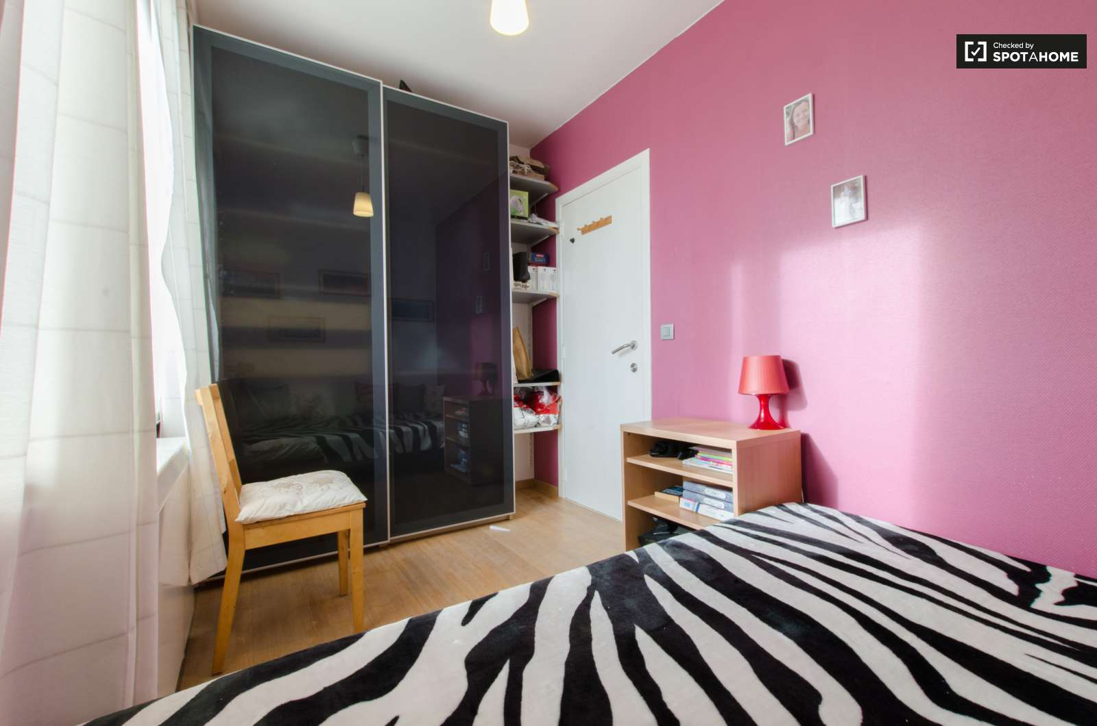 Living Room And Bedroom Room For Rent In Apartment In Nederoverheembeek Brussels Spotahome