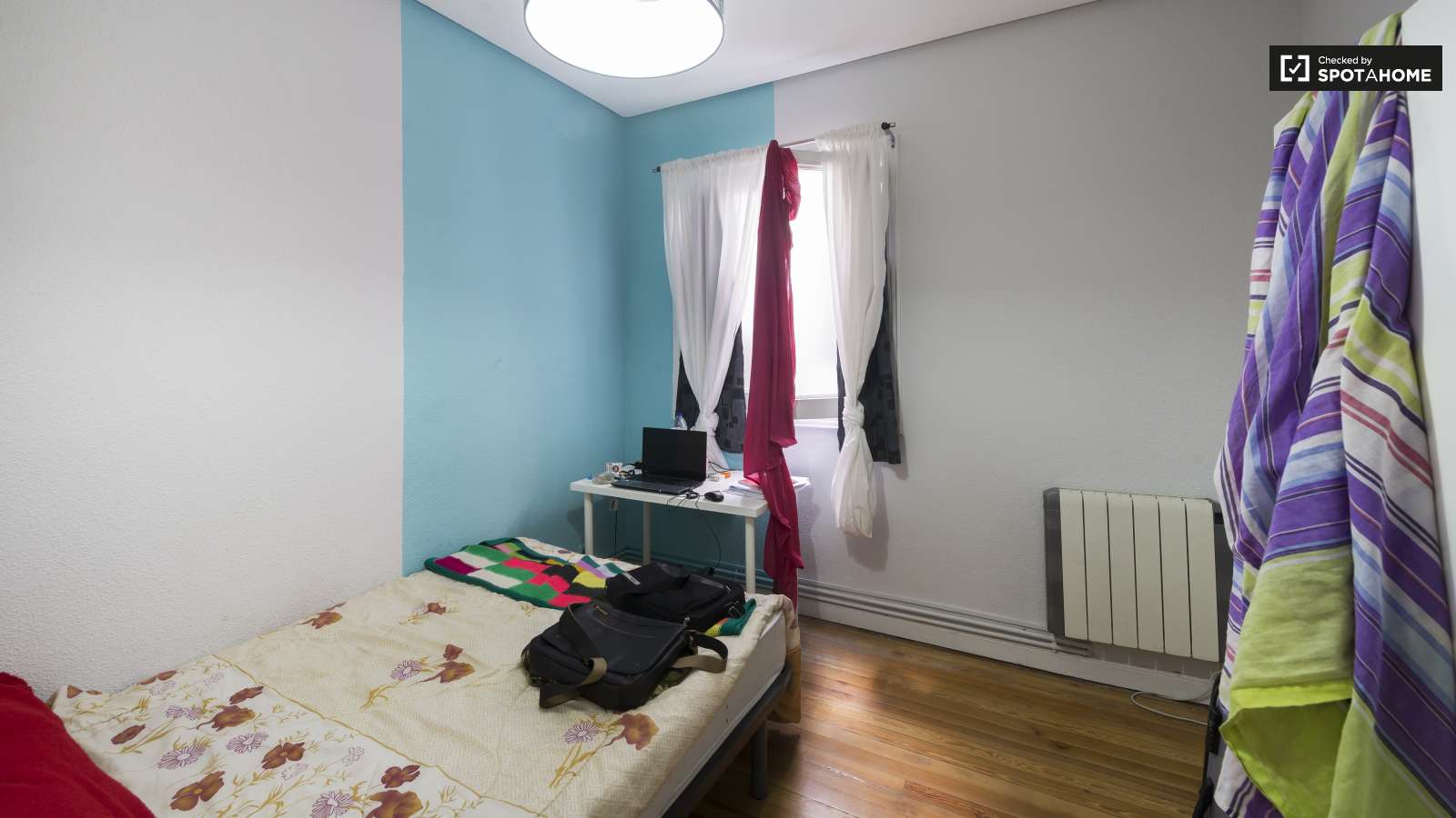 Nicely Decorated Bedrooms Rooms With Utilities Included In Alonso Martinez Madrid Spotahome
